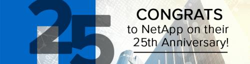 NetApp Banner 25th